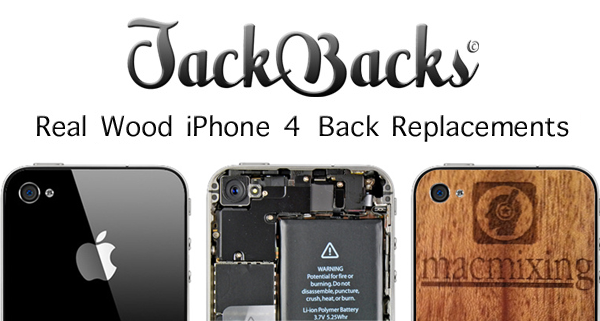 JackBacks – Wood iPhone Back Replacement Review / Tutorial