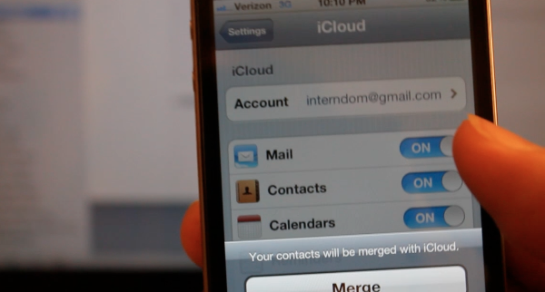 iOS 5 – New Features / Tips – Google Contacts to iCloud and iPhone or iOS Device