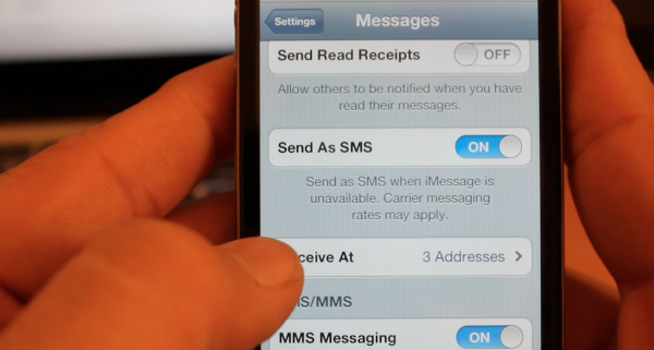 iOS 5 – New Features / Tips – How to Change your iMessage Name / Caller ID – iMessage Tutorial