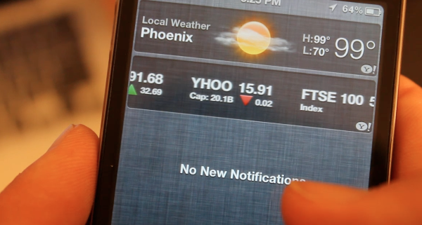 iOS 5 – New Features / Tips –  Notification Center Tutorial – Enable Widgets Banners and Alerts