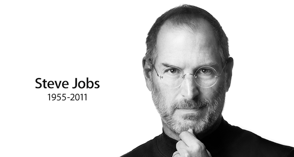 Steve Jobs dies at 56 from a rare form of pancreatic cancer.