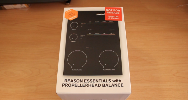 Propellerhead Balance with Reason Essentials – Unboxing / Review – Low Latency Recording Interface
