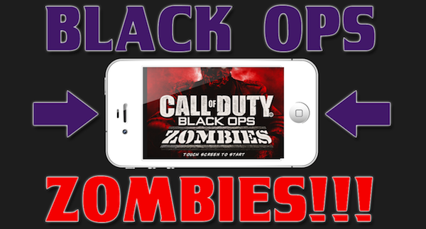 iOS App Reviews – Best Game Apps – Call of Duty: Black Ops – Zombies Review for iPhone / iPod / iPad