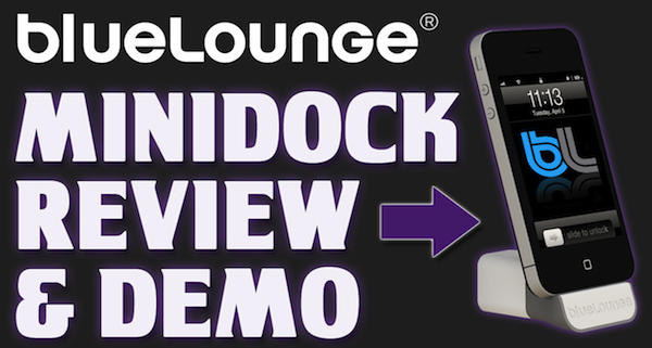 Cool iPhone / iPod Accessory – MiniDock form BlueLounge – Review / Demo / Unboxing