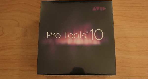 Pro Tools 10 with iLok – Unboxing / Overiew of Software Contents