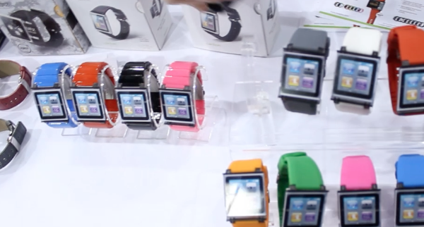 CES 2012 – iWatchz – Watch Bands for your iPod Nano – Tell Time in Style!