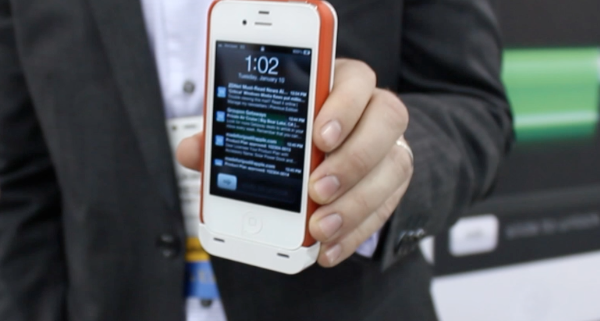 CES 2012 – BoostCase Review – Optional Battery Backup – iPhone Battery Case