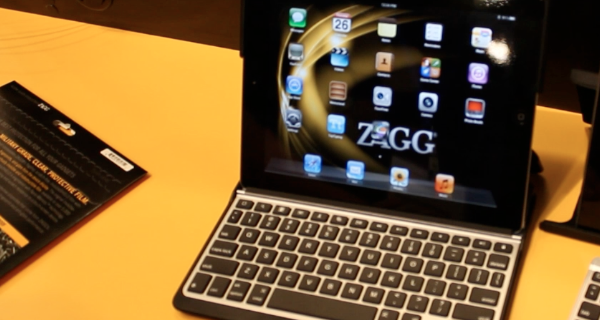 Macworld | iWorld 2012 – Zagg iPad Keyboard Case and Bluetooth Keyboard – Overview