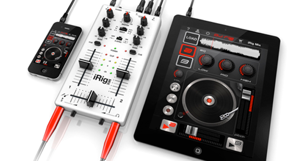 iRig MIX – RELEASED TODAY! The first DJ mixer tailored for iOS devices