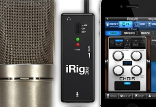 iRig PRE – The Universal Microphone Interface for iPhone/iPod touch/iPad