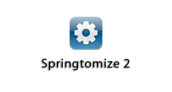 Springtomize 2 – The Ultimate Cydia Tweak, to the MAX!