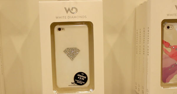 Macworld | iWorld 2012 – White Diamonds iPhone Cases