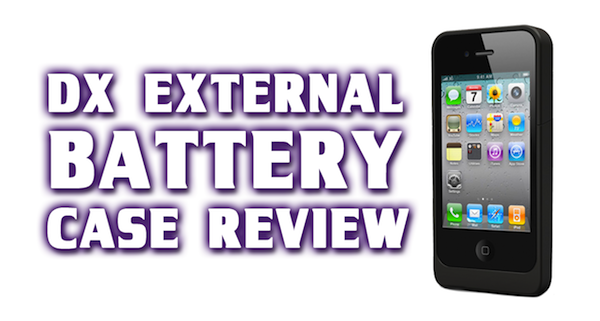 uNu DX External Protective Battery Case For iPhone 4S & 4 – Review / Unboxing