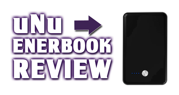 uNu Enerbook Review / Unboxing – 7000 mAh Backup Battery Power – Charge Two Devices at Once