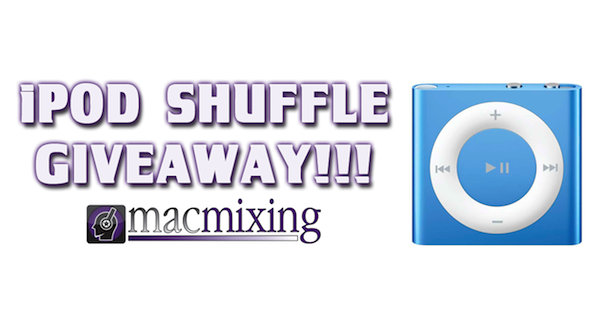 iPod Shufle GIVEAWAY! – One Brand New iPod Shuffle – One Lucky Winner! [GIVEAWAY OVER]