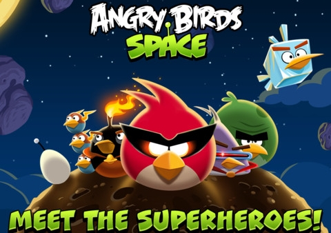 Angry Birds Space Downloaded Ten Million Times in Under Three Days