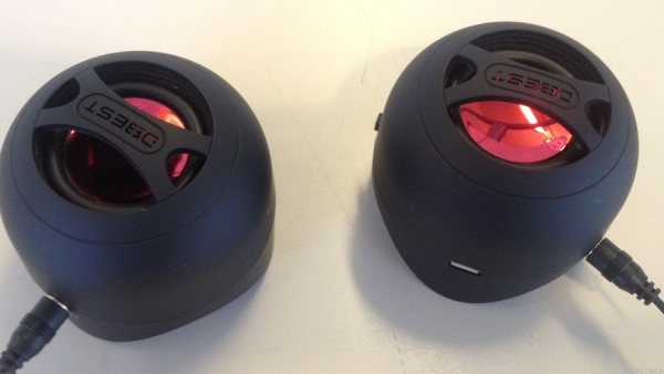 DBEST London Review – Mini Rechargeable Bluetooth Speakers