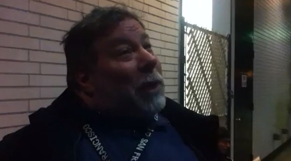 Apple's Co-Founder Steven Wozniak in Line for the New iPad!