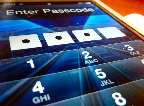 how to break an iphone password