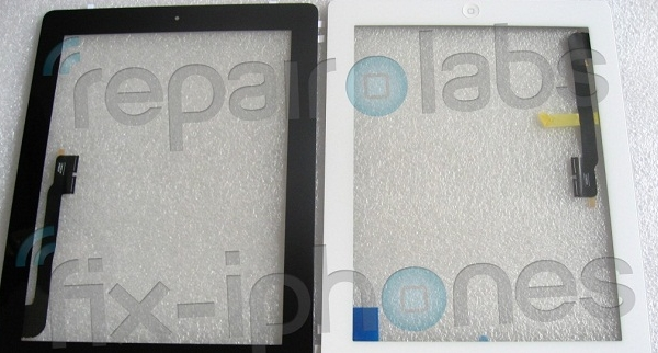 More iPad 3 Parts Surface… Looks like there is a Home Button