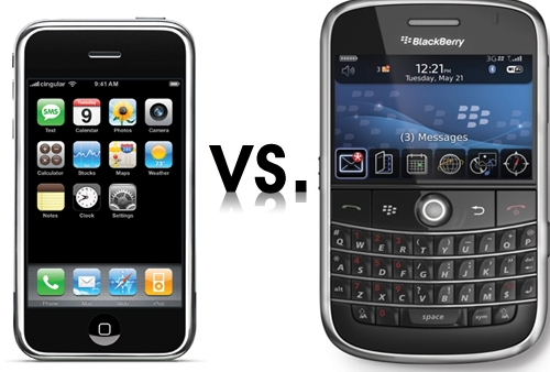 Blackberry Get's Outsold By iPhone In Their Own Backyard