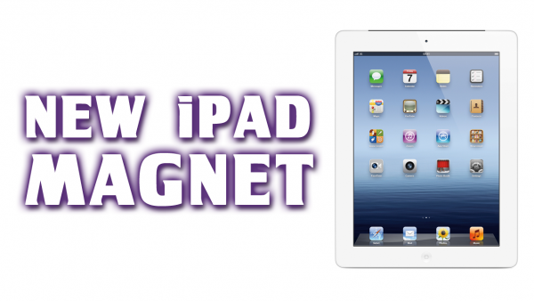 Use Your New iPad as a Refrigerator Magnet… Seriously!