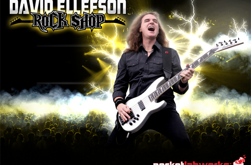 [Q&A] David Ellefson of Megadeth Talks iOS With His New Rock Shop App