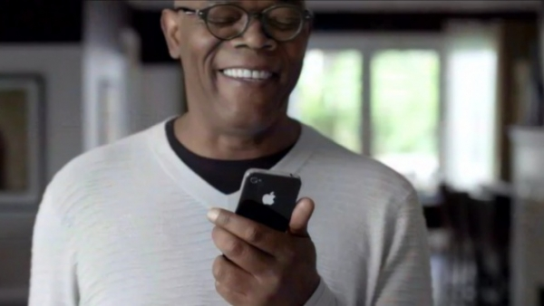 Sam Jackson And Zooey Deschanel In Two New iPhone 4S TV Ads [Updated - HD Versions]