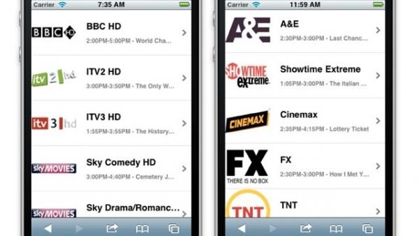 iOSLiveTV.com Will Stream Live TV To Your iOS Device For Free