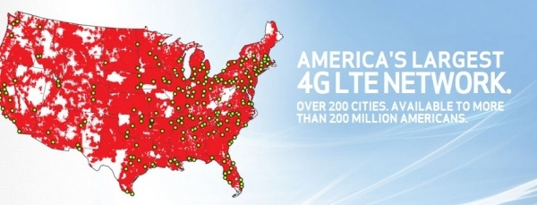 Verizon Killing it With Massive 4G Coverage Roll Out