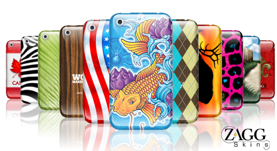 "Macmixing ""Deal Of The Day"" Zaggskins Custom Designed Skins For The iPhone"