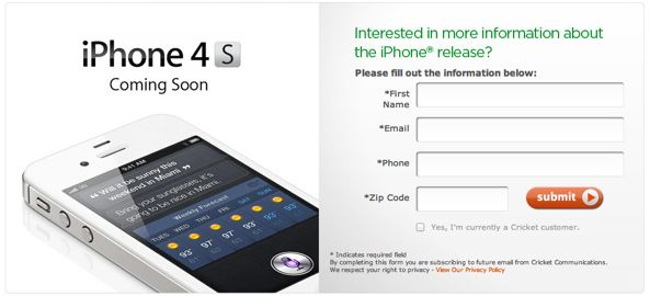 iPhone 4S / 4 Coming To Cricket Starting June 22nd [Update]
