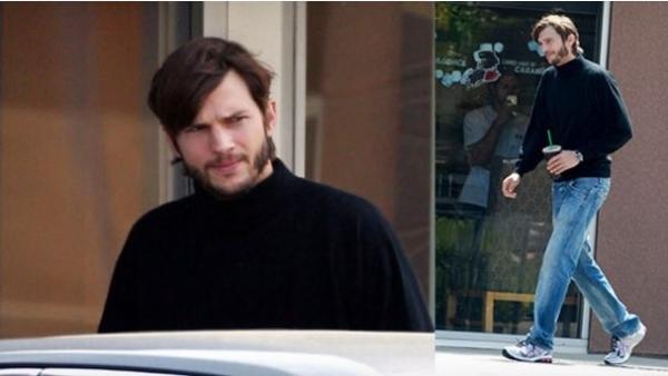 Ashton Kutcher in His Steve Jobs Costume For New Indie Biopic