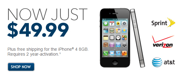 Get an iPhone 4 for Only $50 at Best Buy!