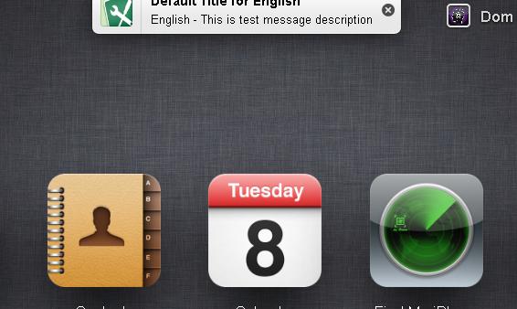 Apple Testing Notifications on iCloud Website