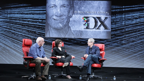 [Video] Highlights From Tim Cook's Interview At D10