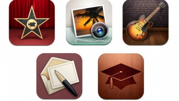 Apple Updates iPhoto, Garageband, iMovie, Cards, & iTunes U iOS Apps – Available Now!