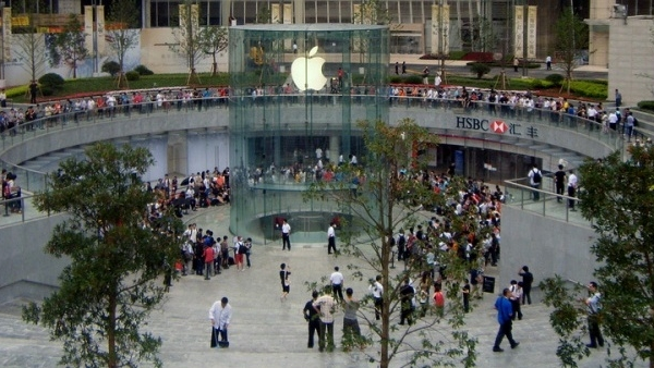 Apple Stores To Be Built Outside Of Foxconn Factories In China