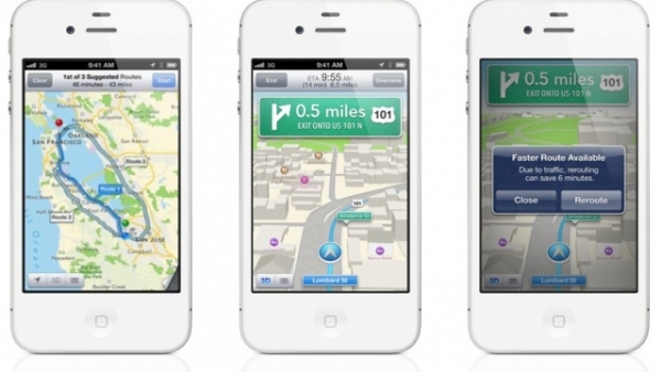iPhone 4 / iPhone 3GS Don't Get 3D Maps Or Turn-By-Turn Navigation In iOS 6