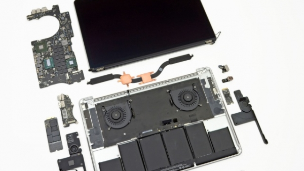 iFixit Teardown of Retina MacBook Pro Finds It 'Least Repairable Laptop' Yet