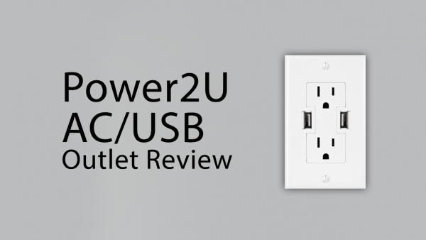 [Review] OWC's Power2U AC/USB Wall Outlet