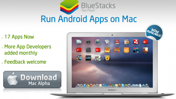 Run Android Apps On Your Mac With BlueStacks