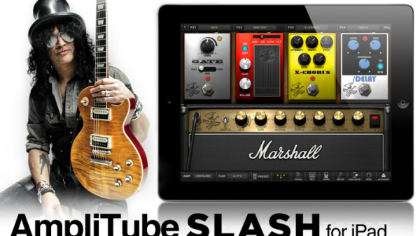 Get Legendary Guitar Tone On Your iPhone / iPad / Mac With AmpliTube Slash