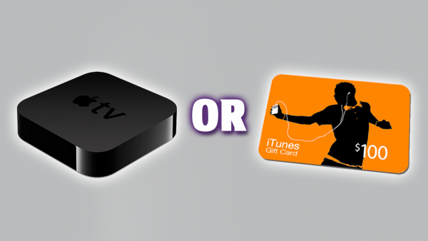 [Giveaway] Apple TV 3 OR $100 iTunes Gift Card