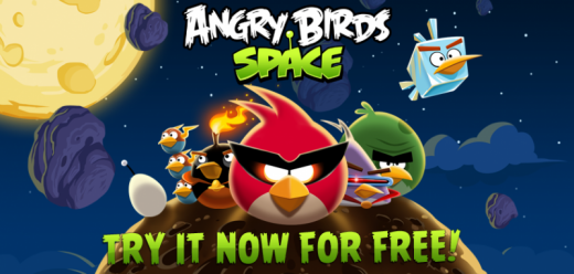 Angry Birds Space Free Edition Now Available