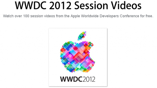 WWDC 2012 Session Videos Now Available To Developers Online