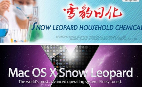 Chinese Chemical Company Sues Apple Over Snow Leopard Trademark