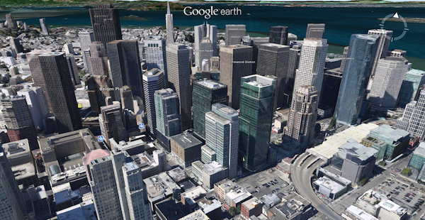 Google Earth Update Beats Apple To 3D Maps