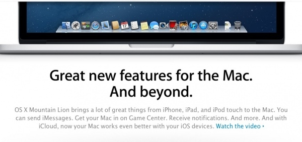 [Video] 30 New Mountain Lion Features In 2 Minutes