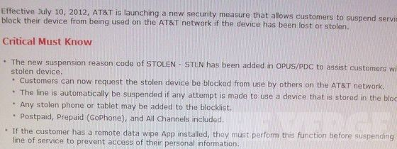 AT&T To Launch New Service Next Week To Block Out Stolen iPhones And iPads